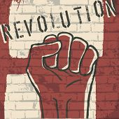 stock photo of revolt  - Revolution - JPG