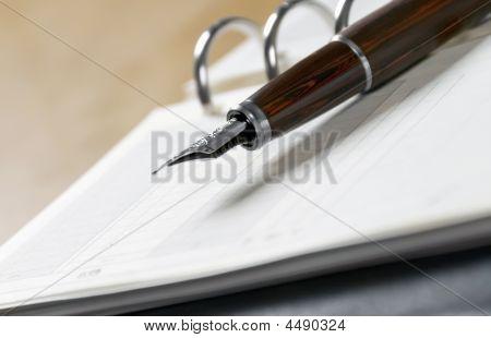 Agenda And Pen