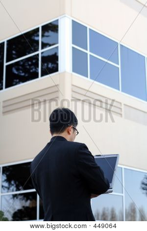 Businessman At Work
