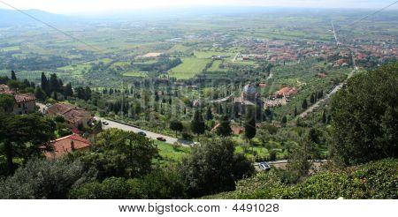 Italy. Tuscany. Cortona Town