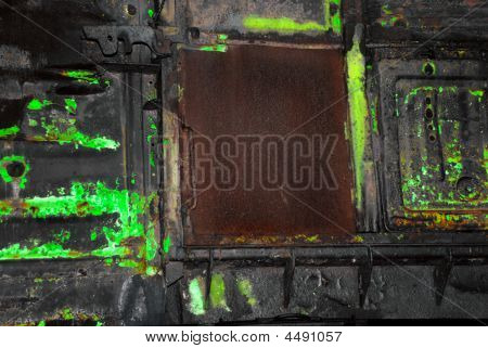 Metal Surface In Toxic Style