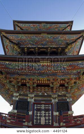 Colorful Japanese Pagoda