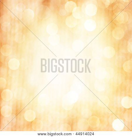Abstract beige blur background, fine art, soft focus, greeting holiday card, festive frame, magic lights, shiny wallpaper