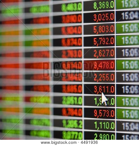 Stock Market Quote Screen