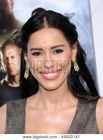 LOS ANGELES - MAR 28:  Rebecca Da Costa arrives to the