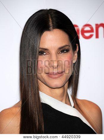 LAS VEGAS - 18 de abril: Sandra Bullock chega a CinemaCon 2013: 20th Century Fox em 18 de abril, 20