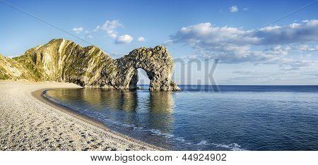Durdle Door And Beach