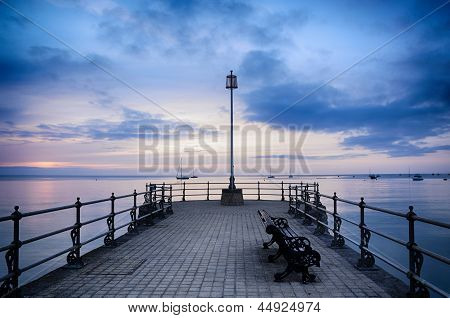 Swanage Pier Sunrise