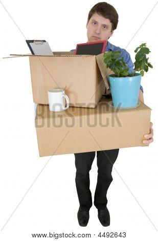 Man bewegt sich in anderen office