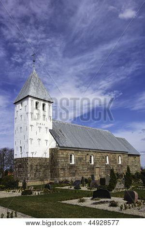 Medieval Church In Bryndom, Esbjerg, Denmark