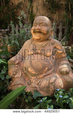 Estátua de Buda de terracota