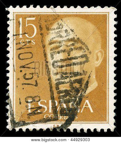 Spanish Post Stamp