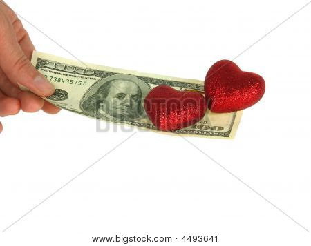 Two Hearts On Dollar