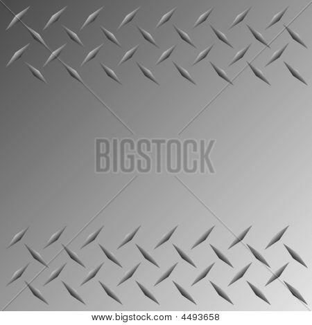 Frontera de placa de diamante de Vector