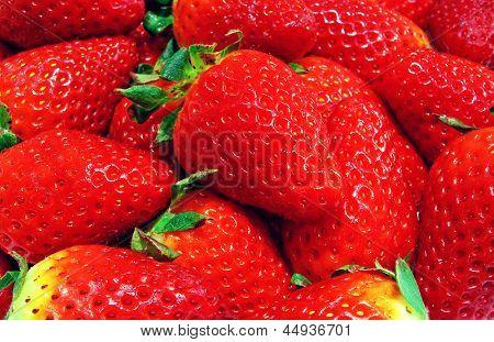 Saftige Erdbeere