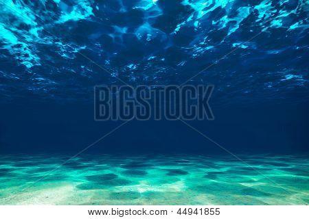 Fondo oceánico, ver debajo de la superficie