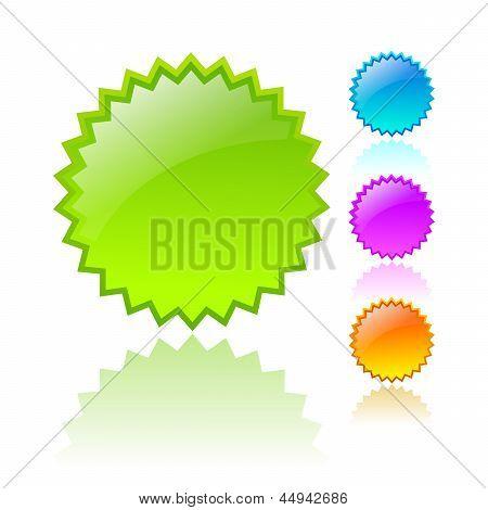 Vector stars iconos