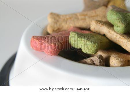 Dog Treats Closeup