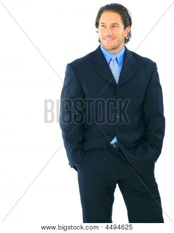 Successful Young Businessman