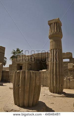 Column base and shaft