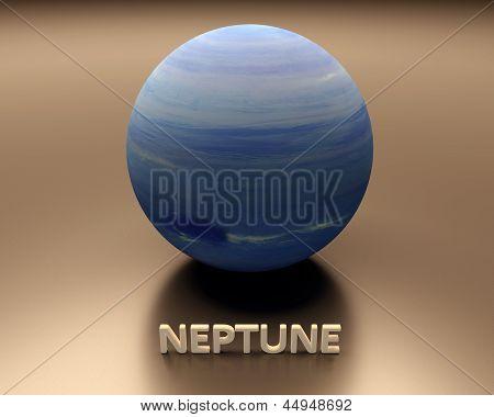 Planet Neptun