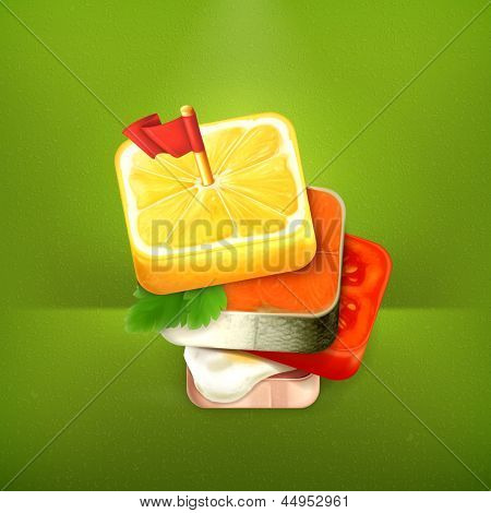 Canape vectors stock photos illustrations bigstock for Canape vector download