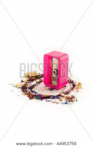 Pink Pencil Sharpener