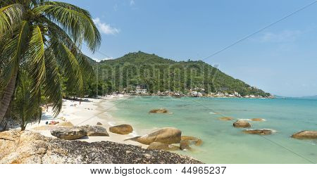 Coral Cove beach view at Koh Samui Island Thailand