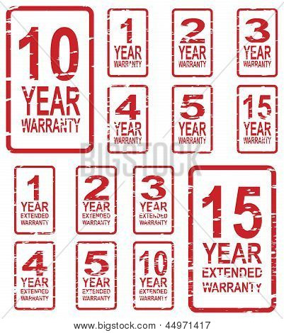 Warranty Stamps