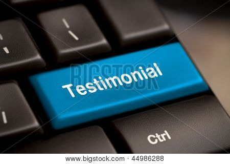Testimonial On Return Key
