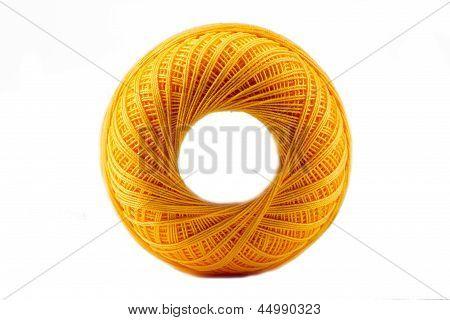 Yellow Cotton Spool