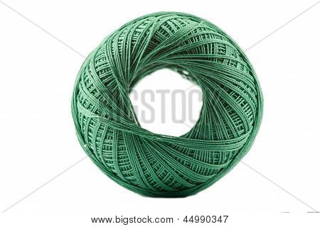 Green Cotton Spool