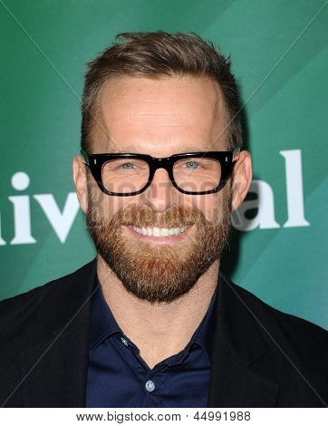 LOS ANGELES - JAN 06:  Bob Harper arrives to the NBC All Star Winter TCA 2013  on January 06, 2013 in Pasadena, CA