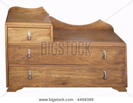 Antique Dresser With Mirror Missing