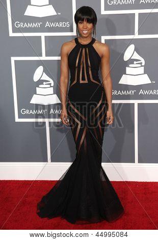 LOS ANGELES - 10 de fev: Kelly Rowland chega a 2013 de prêmios Grammy, em 10 de fevereiro de 2013 em Los