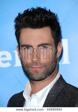 LOS ANGELES - JAN 06:  Adam Levine arrives to the NBC All Star Winter TCA 2013  on January 06, 2013 in Pasadena, CA