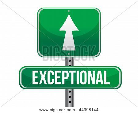 Exceptional Road Sign Illustration Design