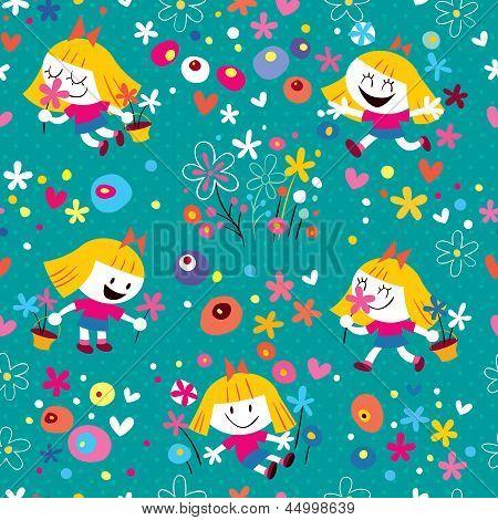 flower girl pattern