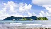 stock photo of greater antilles  - Batteaux Bay - JPG