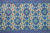 pic of ottoman  - Ancient hand made Turkish  - JPG