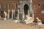 foto of arsenal  - The Porta Magna at the Venetian Arsenal Venice Italy - JPG