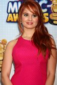 LOS ANGELES - APR 27:  Debby Ryan arrives at the Radio Disney Music Awards 2013 at the Nokia Theater