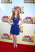 LOS ANGELES - APR 27:  Katherine McNamara arrives at the Radio Disney Music Awards 2013 at the Nokia