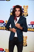 LOS ANGELES - APR 27:  Blake Michael arrives at the Radio Disney Music Awards 2013 at the Nokia Thea