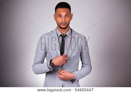 Young African American Man Looking - Black People