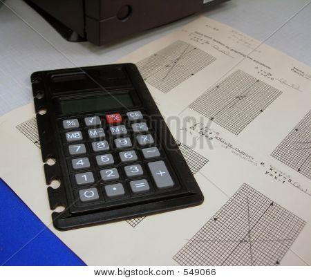Calculator And Math Homework
