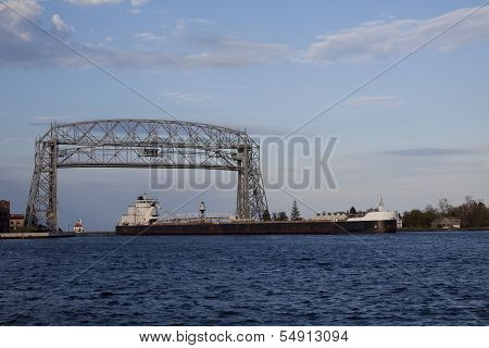 Lift Bridge & Ship