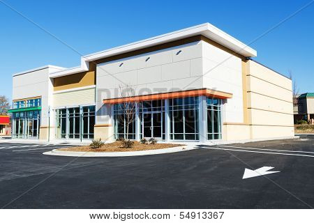 Small commercial building