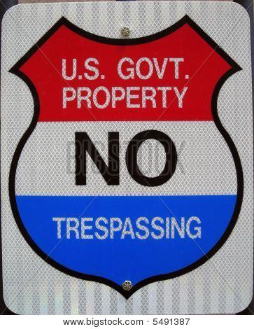 Us Government Sign