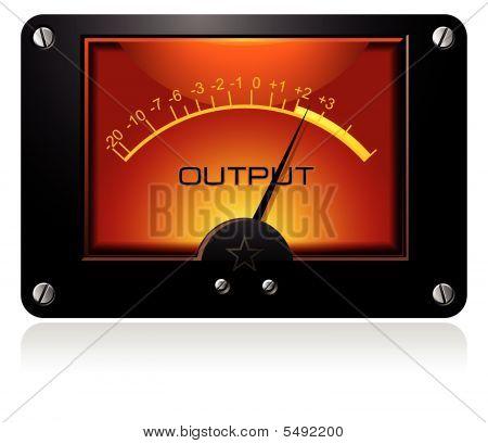 Orange Signal Meter